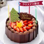 【10月ご予約価格】生ケーキ・タルト チョコレートのクリスマスケーキ 直径15cm /ミュゼ・ド・ガトー