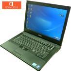 ショッピングOffice 送料無料 3カ月保証 中古ノートパソコン DELL LATLTUDE E6410 14.1型W Windows7 Corei5 4GB 320GB DVD/RW MS-Office2016 RNT525m