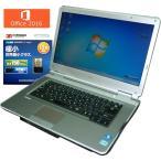ショッピングOffice 送料無料 3カ月保証 中古ノートパソコン NEC VersaPro VD-D VK25MD-D 15.6型W Windows7 Corei5 4GB 250GB DVD MS-Office2016 RNT538m