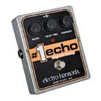 《正規輸入品・新品》 electro-harmonix (エレクトロ・ハーモニックス) #1 Echo (ナンバーワンエコー) デジタルディレイ