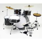 Musical Story ミニチュア ドラム フィギュア 楽器 模型 ブラック デカール付き