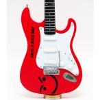 Musical Story ミニチュア ギター フィギュア 楽器 模型 ジョン・ボン・ジョヴィ Have a Nice Day ストラトキャスター スタイル