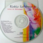 リッキーリージョーンズ Rickie Lee Jones - The Chicago Sessions (CD)