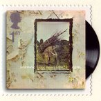 レッドツェッペリン Led Zeppelin - Classic Album Covers: IV Strip of 5 Stamps (goods)