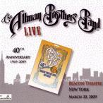 エリッククラプトン Eric Clapton (Allman Brothers Band) - Live (40th Anniversary Tour 1969-2009): Beacon Theatre, NYC 03/20/2009 Reissue (CD)