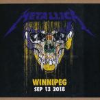 メタリカ Metallica - Winnipeg, Canada 09/13/2018 (CD)