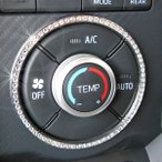 COPEN Cero コペン セロ専用オートエアコンダイヤルリング(クリスタル)LA400K H27.6月〜/インテリア・パーツ・DMMC