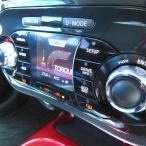 mut-NISSAN JUKE ジューク専用オートエアコンダイヤルリング(クロームリング)・2pcs・CBA-F15,NF15,YF15,H22.6月〜・リングパーツ・インテリア