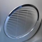 mut-NISSAN NOTE ノート専用ドアスピーカーリング/リア(クロームリング)2pcs・DBA-E12,NE12,H24.9月〜・リングパーツ・インテリア