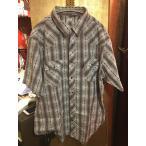 ショッピングused 【USED 古着】LEVI'S リーバイス半袖ダイヤモンド刺繍ステッチシャツ