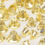 鈴 クリスマス ベル 全3サイズ 10〜15個 ゴールド 《  アクセサリー パーツ クリスマス X'mas ツリー オーナメント 》