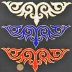 刺繍ワッペン アイロン接着可 全3色カラーにゴールド枠刺繍入り マーチングバンド、バトン、新体操、フィギュア、ダンスなどの衣装に【ゆうパケット20点可】