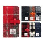 iPhone7 ケース 手帳型 SLG Design Harris Tweed Diary(エスエルジーデザイン ハリスツイードダイアリー)アイフォン 本革 カバー 予約【11月上旬入荷】