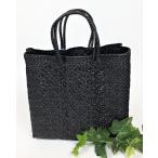 ショッピングかごバッグ かごバッグ Libera リベラ メルカドバッグ プラスチックトートバッグ 2017 Sサイズ ブラック