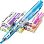 ぺんてる:ノック式蛍光ペン ハンディラインS  SXSN15 1箱(10本)