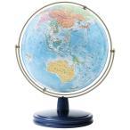 渡辺教具製作所:地球儀 WEジェミニ行政&地勢図(球径26cm・スチール台) W-2607 1個