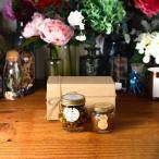 ナッツの蜂蜜漬け エトワールL(200g) + ピーナッツハニーM(90g) / ナチュラルクラフトボックス(M) + 麻紐リボン