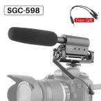Takstar SGC 598 ビデオマイク カメラインタビュー ビデオ 録画 Vlogマイク デジタル 一眼レフ カメラ ニコン キャノン コンデンサーマイ