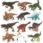 クリスマス プレゼント 恐竜 おもちゃ 知育玩具 誕生日 新改良プレゼント包装 12個セット(恐竜)