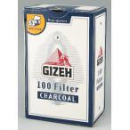 【GIZEH】ギゼ 手巻きタバコ レギュラー チャコール フィルター 手巻きタバコ用 100本(直径8mm)