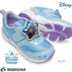 ディズニー プリンセス DN C1250 アナと雪の女王 光る靴 マジック式 抗菌 防臭 ディズニー映画 子供スニーカー ムーンスター