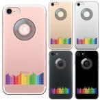 iPhone7 アイフォン クリアケース 保護フィルム付 DJ ターンテーブル
