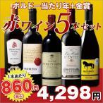 ワイン 第93弾 楽しく飲み比べ 赤ワイン5本セット