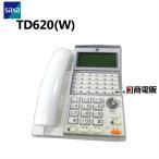 【中古】saxa/サクサ UT700用 TD620(W) 30ボタン多機能電話機【ビジネスホン 業務用 電話機 本体】