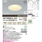 コイズミ 防雨防湿型LED ダウンライト AD70996L (電球色)(埋込穴φ100)