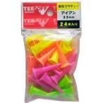 レザックス TEE-OFF 蛍光プラスティックティ アイアン 33mm/24本 TOPL-2125 LEZAX
