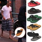 Sandals - ワンポイントロゴビーチサンダル ビーサン メンズ おしゃれ 軽量 EVA メール便のみ送料無料2
