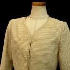 15号 ミセスフォーマルジャケット ゆったりサイズ 3L 春から夏素材 母フォーマル