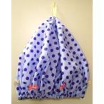 母の日 シャワーキャップ 日本製 水玉タフタ チュニック ブラック・ミント・ローズピンク・ブルー