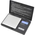 デジタルポケットスケール 小型計量器 キッチンスケール コンパクト 計量(〜500g)