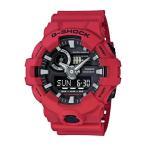 カシオ メンズウォッチ 腕時計 G-shock Casio G-shock Ana Digi Red Men's Watch, 200 Meter Water Resistant with Day and Date GA-700-4A