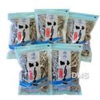 瀬戸内産 漁協の煮干しいりこ (中羽) 200gx5袋セット