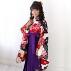 卒業式 袴 レンタル 小学生 小学校 女の子 古典「ジュニア卒業式14点セット袴レンタルセット」
