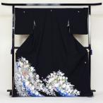留袖 レンタル 往復送料無料 着物 黒留 桂由美 黒留袖 19点フルコーディネートセット 結婚式