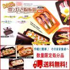 (全商品送料無料) レンジで焼きやき陶板皿 RY-1C オレンジ (魚焼き網・フタ付フライパン・電子レンジ調理・焼き魚・陶器)