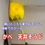 かべ 天井そうじ  (はたき・埃とり・蜘蛛の巣)(tenjyou)