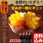 ショッピング朝までクール ●送料込み 遠赤ごと芋 食べきりサイズ6袋セット(180g×6袋)※お一人様1個限り