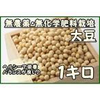 大豆 1キロ   『無農薬・無化学肥料栽培』 埼玉県加須市 遠藤農園産 大豆