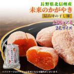 11月下旬ごろから 市田柿 化粧箱 未来のかがやき  2Lサイズ 4パック 長野県産のブランド干柿 みらいのかがやき