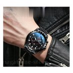 腕時計 メンズ 30m 防水 メンズウォッチ アナログ 日付 クロノグラフ調 ビッグフェイス ステンレス 文字盤 大きい 夜光る 時計 大人 おしゃれ かっこいい