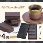 チョコレート菓子 ガトーショコラ 「門前しょこら 4個詰」