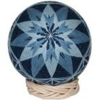 日本の様式美,松江藍手まり(菊と麻の葉)