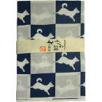 日本手ぬぐい福和犬(白)