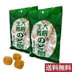 オーガニックハウス 大根生姜のど飴 110g×2袋セット