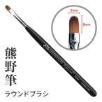 (DM便○)SHINYGEL Professional:ジェルブラシ/ラウンド ジェルネイル 平筆 ラウンド筆 (シャイニージェルプロフェッショナル)