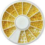 スタッズ 大量800粒 メタルスタッズ ラインストーン ゴールド お試しセット ケース付き | ネイル パーツ ジェル ネイルパーツ ネイル用品 メタルパーツ メタ